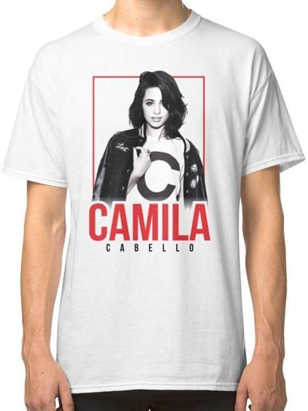 Camilla Cabello Mens White Tshirt