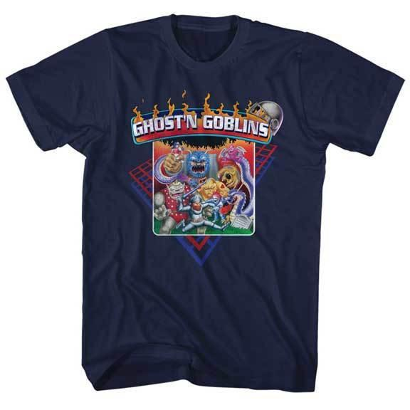 Ghost And Goblins Group Of Goblins Capcom Video Game Adult T Shirt