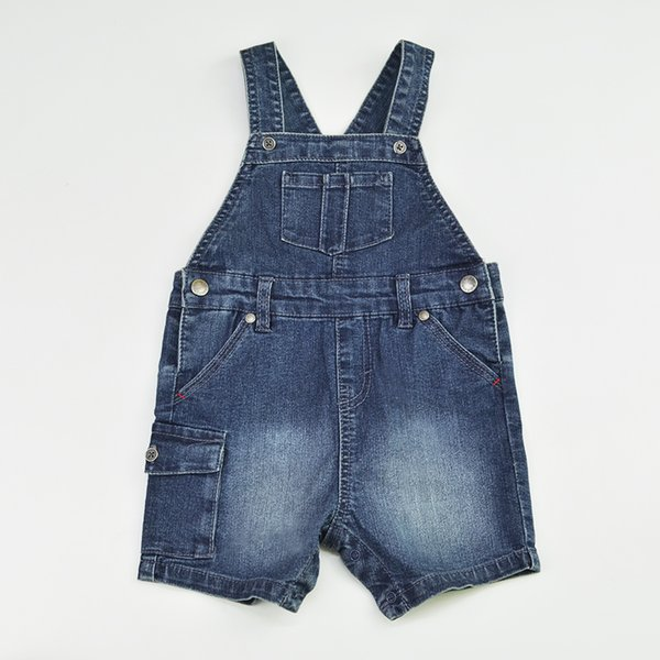 Baby Shorts Denim Jeans Newborn Bebe Short Pants Jumpsuit Suspender Kids Rompers Playsuit Patchwork Outfit Children Clothing