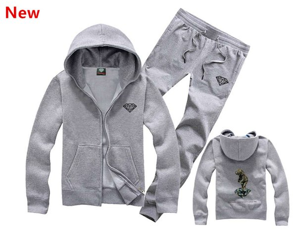 Rifornimento del diamante di co felpa uomo le donne di strada caldo pile felpa inverno moda autunno hip hop primitivo pullover Z-04