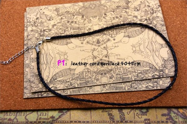 Metal Color:leather necklace