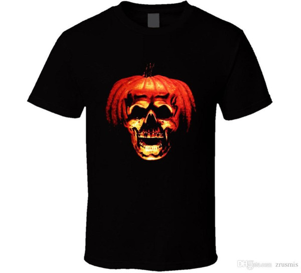 2a6972ceeae 2018 Summer Casual Man Halloween Bla T Shirt Horror Slasher Movie Scary  Party Pumpkin New From US Band Logo Tee Shirt For Men Tee Shirts Online ...