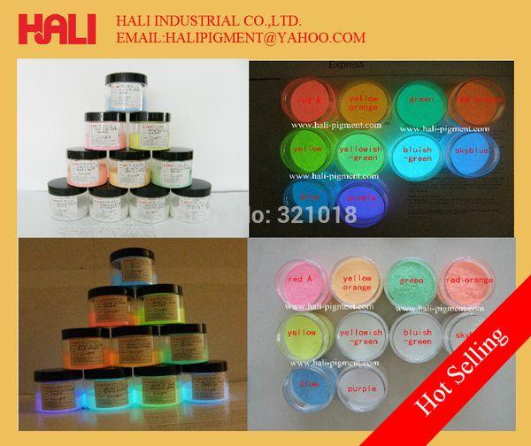 pigmento de batom, resina pigmento fluorescente, brilho no pigmento em pó escuro, frete grátis, frete grátis por Singapore post.