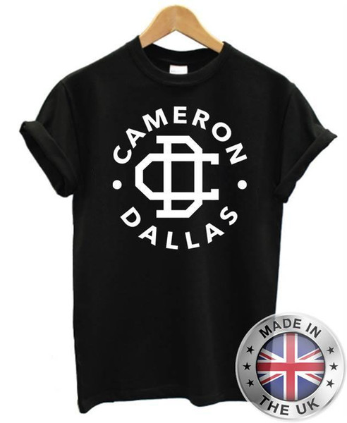 91a288fda8f84 Cameron Dallas T Shirt Funny Slogan Tumblr Dope Youtube NEW Funny T Shirts  For Guys Fashion T Shirts From Yuxin04, $12.18| DHgate.Com