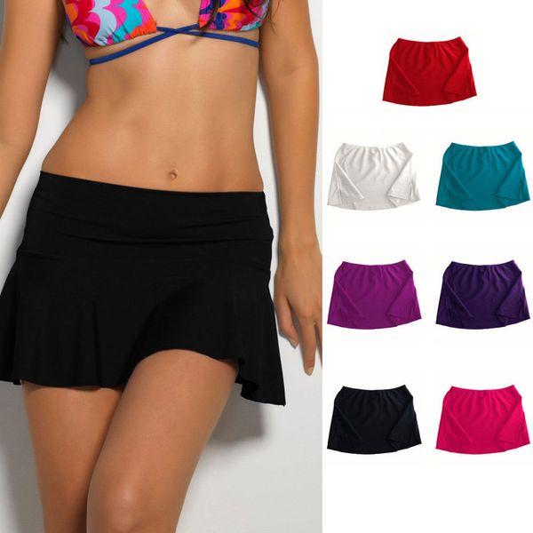Hot Summer Bikini Bottom Tankini Swim Short Skirt Swimwear Cover Up Beach Dress Bathing Suit Beachwear Swimming Costume