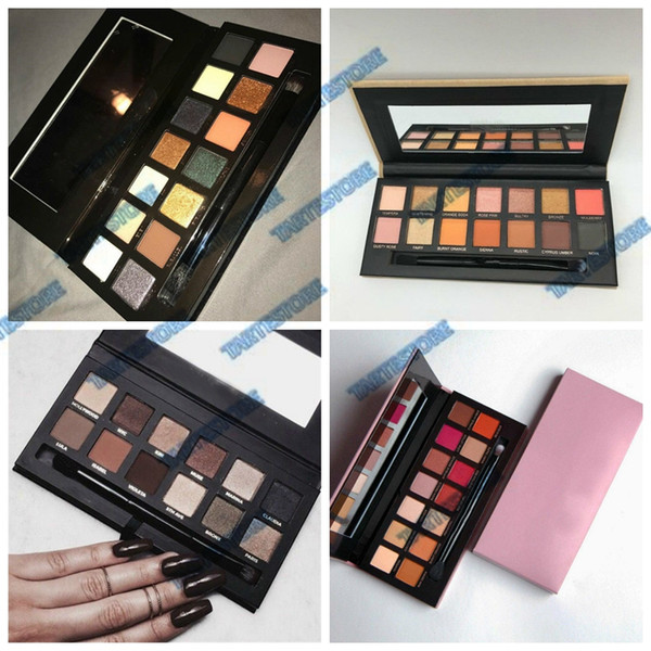 new eyeshadow palette 4 edition modern master soft hills matte waterproof makeup eye shadow palette dhl ing