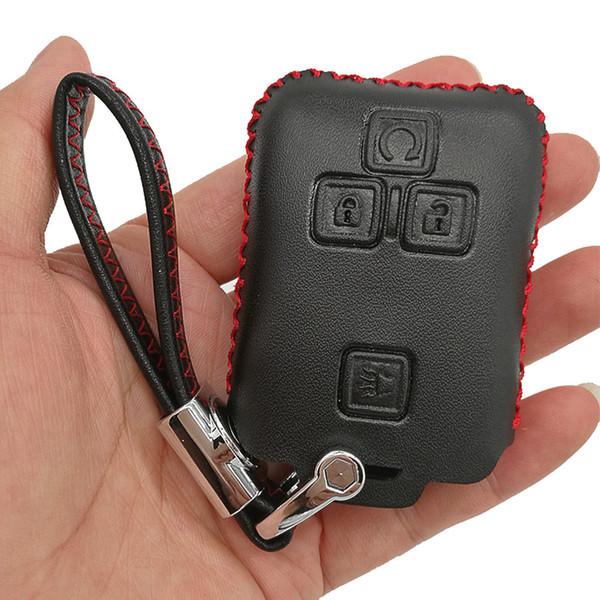 Suburban Lock And Key >> Leather Key Protector Remote Skin Cover Case Keyless Entry Jacket For 2017 2016 2015 2014 Gmc Yukon Chevrolet Tahoe Suburban M3n 32337100 Ignition Key