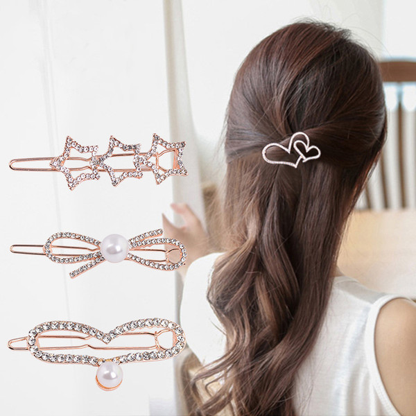 The new Korean version of bow tie, side clip hair accessories, diamonds and all around cartoon hairdressing, Liu Haijia headwear wholesale