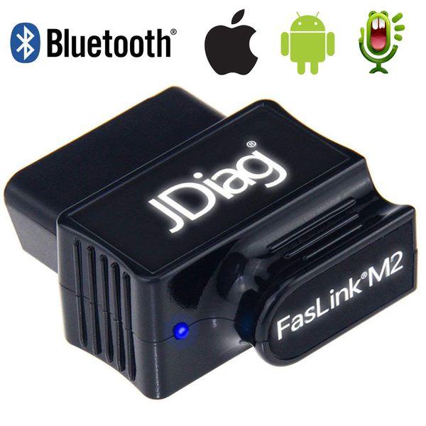 top popular Original OBD2 Auto Code Reader Bluetooth 4.0 JDiag FasLink M2 Phone Car Diagnostic Tool PK EasyDiag OBDLink Automotive Scanner 2019