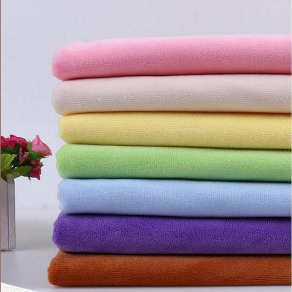 Tecido de cristal de lã de veludo de coral de pelúcia curto para o material de Costura Artesanal Cortina DIY ofício colcha de lazer desgaste