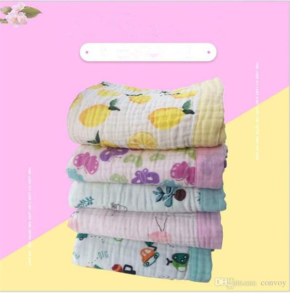 Baby Muslin Swaddles Cotton Wraps Ins Blankets Nursery Bedding Newborn Ins Swadding Bath Towels Parisarc Robes Quilt Robes BHB41