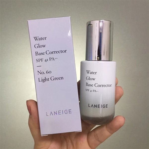 Korea Brand Water Glow Base Corrector Cream Foundation Concealer Primer Moisturizing Face Repair 35ml