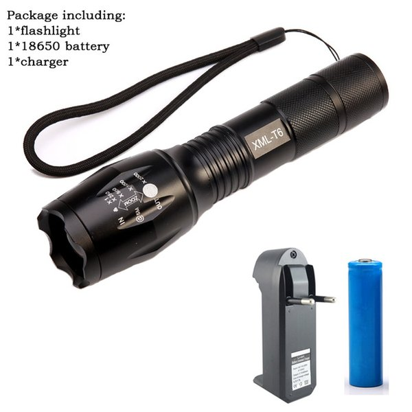 flashlight+battery+charger