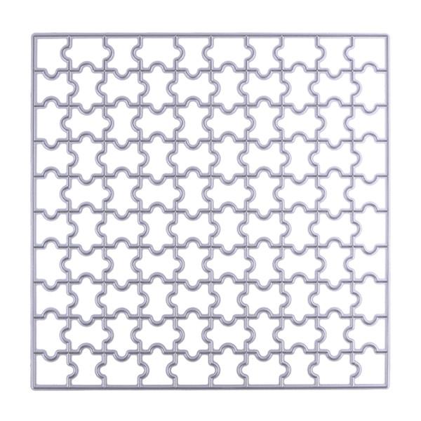 150mm Jigsaw Puzzle Cutting Dies Scrapbooking Paper Card Craft Dies DIY Embossing Metal Stencil Decorative Dies Cutter