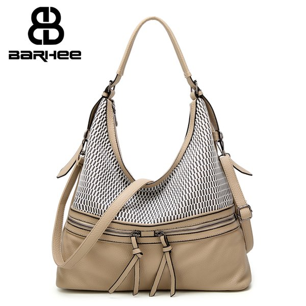 8981ce2f3c 2017 New Hobo O Bag Women Handbag High Quality PU Leather Casual Daily Shoulder  Bag Fashion
