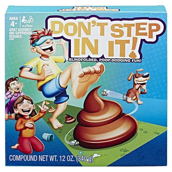 Giocattoli divertenti di Halloween per la famiglia NON PASSO IN ESSO Gioco Poo bendato Dodging Fun Family Party Gioco Giocattoli C5231