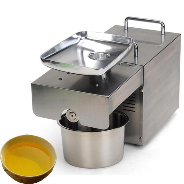 Qihang_top paslanmaz çelik otomatik soğuk pres yağ makinesi, ticari yağ soğuk pres makinesi, ayçiçeği tohumu yağı çıkarıcı