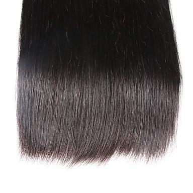 Very Smooth Brazilian Virgin Straight Hair Weave 100% Human Hair Weave 6a Unprocessed Double Weft Hair Extension
