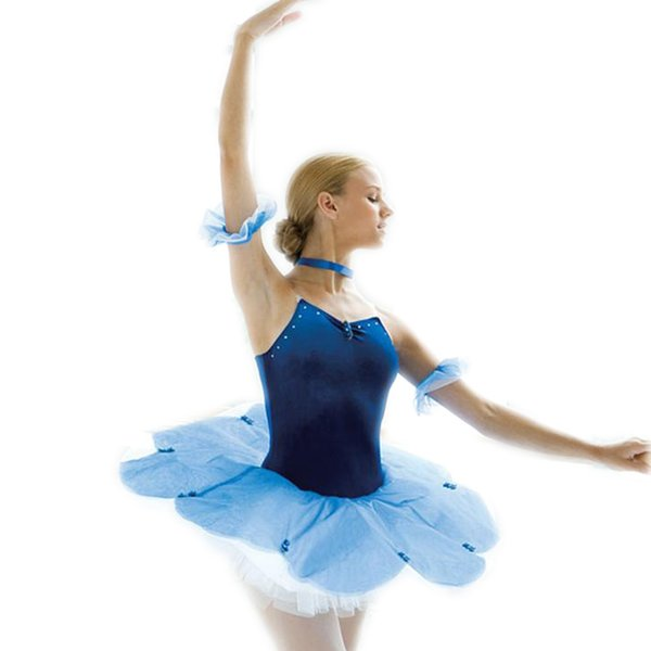 Gymnastics Leotard For Girls Ballet Dress For Children Ballet Tutu Dance Skirt Adult Hair Accessory Flower Dress Professional