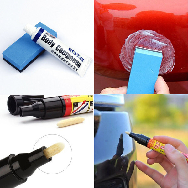 best selling Car Body Compound Scratch Removal Fix Repair Paint Coat Applicator Pen Abrasives