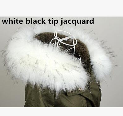white black tip