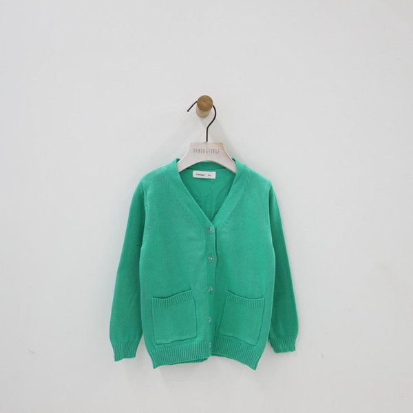 Maglione per bambini e autunno Ins Pattern boy girl Cardigan per bambini Pure Cotton Knitting Network Red Pocket Loose Coat