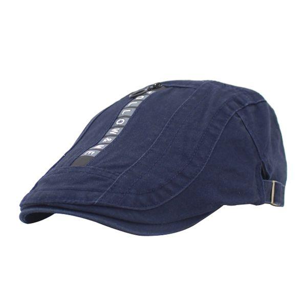 XYKGR Men's personality beret fashion casual hat vintage cotton beret outdoor travel cap
