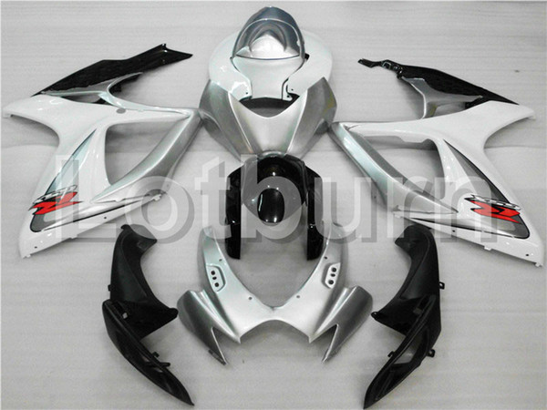 Motorcycle Fairing Kit Fit For Suzuki GSXR GSX-R 600 750 GSXR600 GSXR750 2006 2007 K6 06 07 Fairings kit High Quality ABS Plastic A318