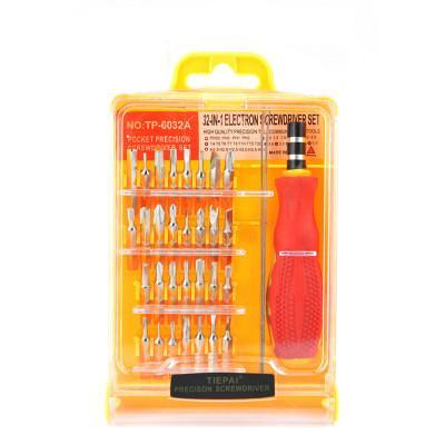 Juego flexible profesional de destornilladores de precisión 32 en 1 Teléfono móvil PC Tableta Kit de reparación Herramientas Herramientas DHL gratis