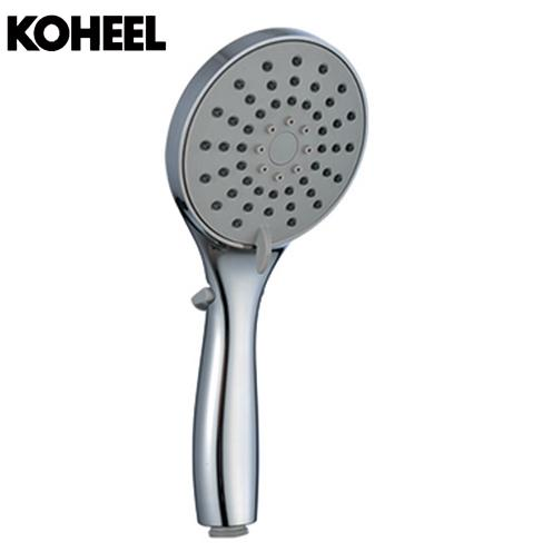 K8 Showe Head Chrome Basin Shower Set Round Shape Shower Head With Hose And Hand With 9 Inch Rainfall