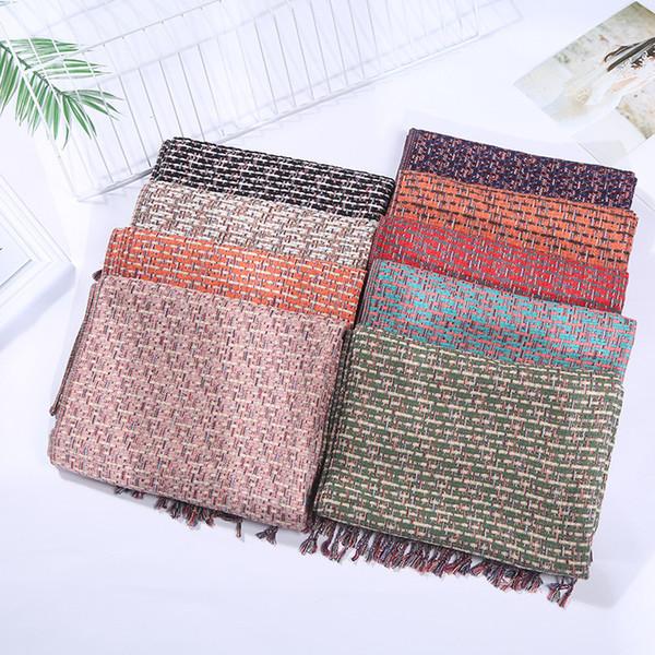 Top Cashmere Winter Schal Mann Und Frauen Marke Big Size Schals Männer Pashmina Infinity Schal Frauen Dicke Schals