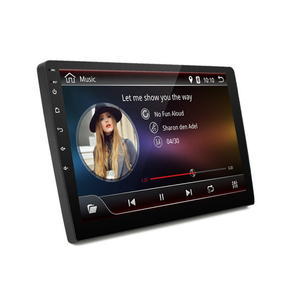 "9"" Android 7.1 2 DIN Car Stereo Radio MP5 Player Ultra thin GPS Wifi Bluetooth"