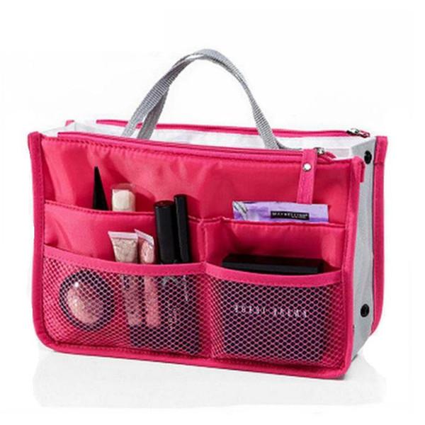 Bolsas de cosméticos multifunción Bolsas de maquillaje Bolsa de almacenamiento Organizador de maquillaje Bolsa de maquillaje de viaje para mujeres Kits de artículos de tocador Estuches de cosméticos