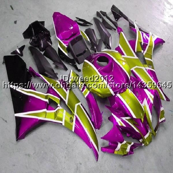 23colors+5Gifts YZFR6 Full fairing kits for Yamaha YZFR6 2008 2009 2010 2011 2012 2013 2014 2015 2016 YZF R6 ABS Plastic Bodywork Set