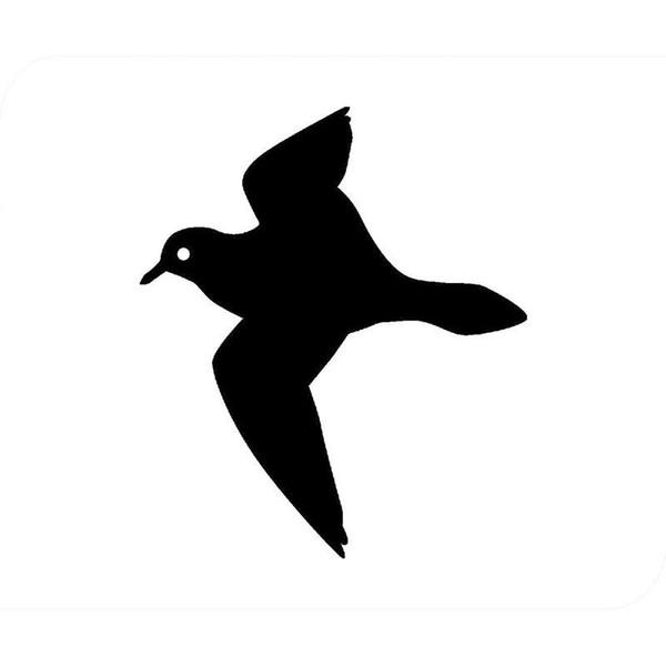 HotMeiNi Wholesale 20pcs/lot Plover Funny Bird Car Sticker For Truck Window Bumper Auto SUV Door Laptop Kayak Vinyl Decal