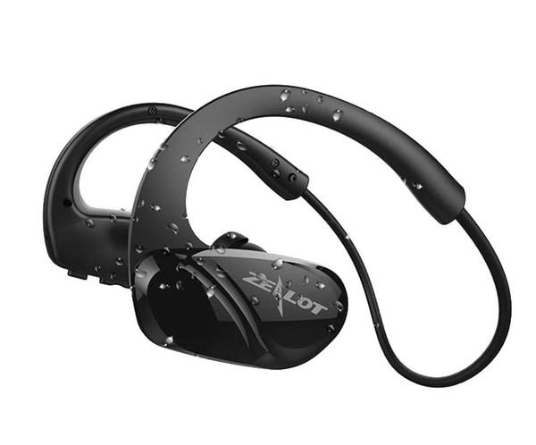 ZEALOT H6 Étanche Bluetooth Écouteur Hifi Stéréo Sans Fil Casque De Sport Fitness Course à Pied Utilisation Mains Libres Avec Microphone Gratuit Epacket