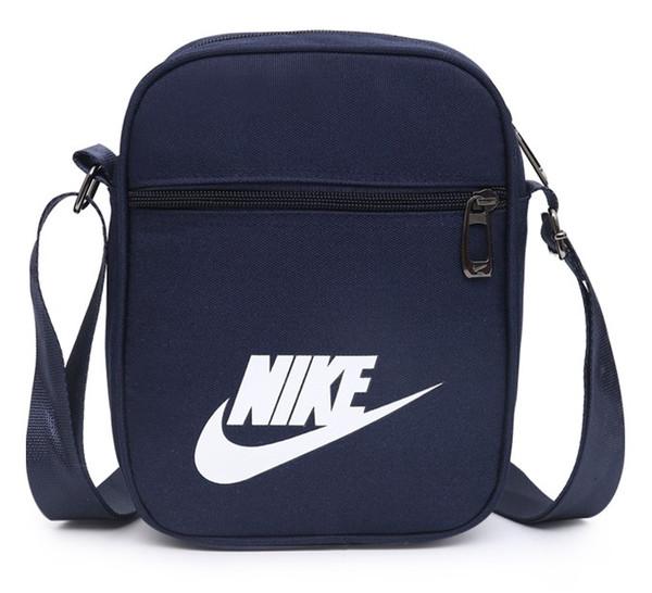 Famosa Marca Designer Cross Body Bags com LettersTick Impresso Saco Do Mensageiro De Luxo Homens Ombro Cross-Body Bag Fechado Quatro Cores