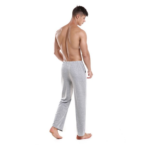 CALOFE Joggers Pants Male Drawstring Trousers Mens Solid Grey Black Sweatpants Men Sportwear Loose Running Pants 2018