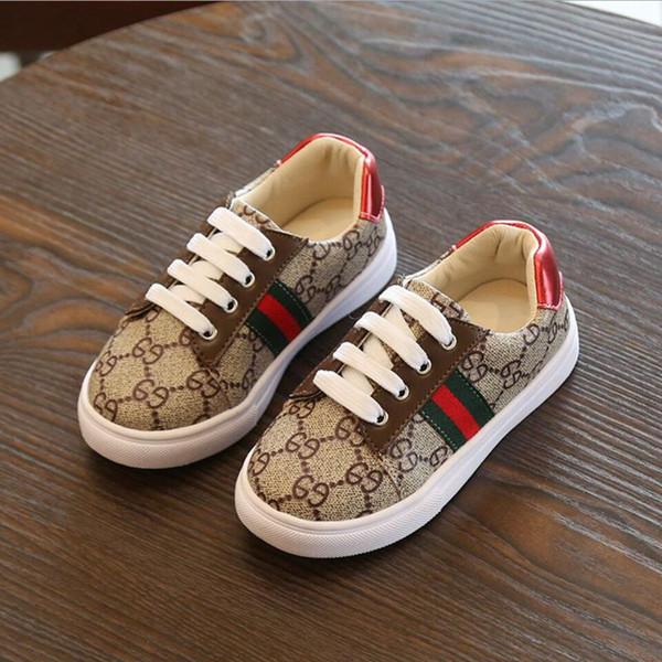 Çocuk rahat ayakkabılar Koreli kız kaymaz koşu ayakkabıları 2018 sonbahar yeni erkek spor ayakkabı 4 --- 6 yaşında