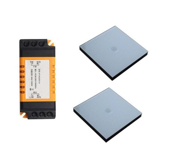 Universal AC 85v 110v 220v 240V 250V 1 CH RF wireless remote light control switch receiver transmitter