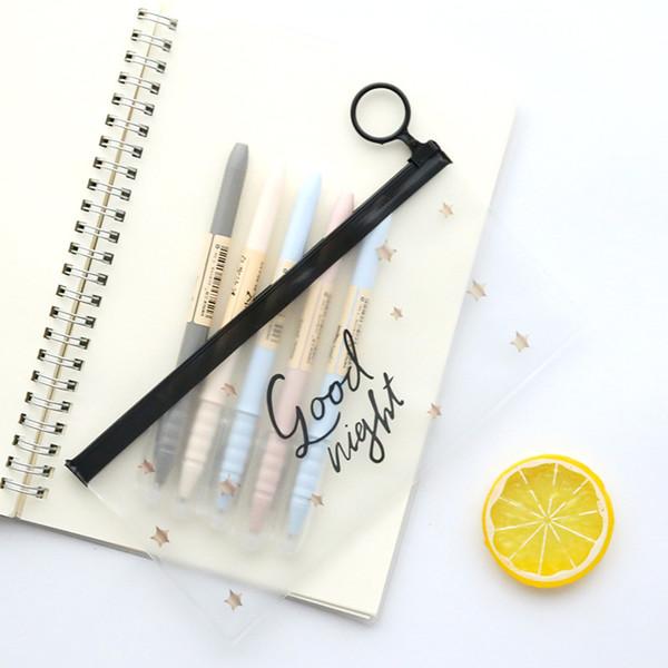 eTya Woman Makeup Bag Fashion PVC Zipper Cosmetic Bag Students Pencil Case Travel Toiletry Toothbrush Wash Pouch Organizer