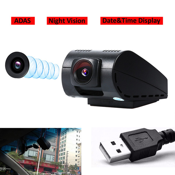 USB Front Camera Decorder Car DVR For Android System Car GPS Radio Player 1280*720P Resolution