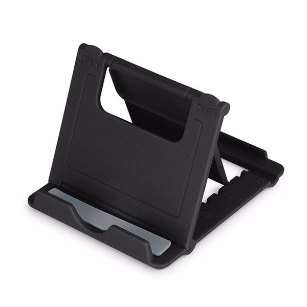 Mini Phone Universial Holder Mobile Bracket Stent Foldable Mount Portale Lazy Desk Stand For IPX Sam sung Galaxy tablet With Package