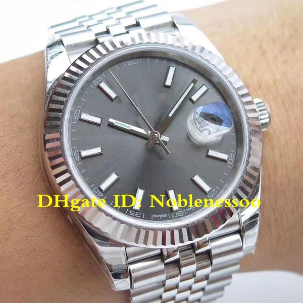 5 Farbe CAL.3235 Uhrwerk Luxus Herren Datejust 126334 41mm Jubiläum Rhodium Dial 126333 ETA 3235 Automatikuhren