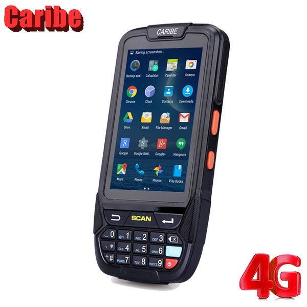 best selling Caribe Rugged 1D 2D Bar Code Scanner Android PDAIP65 RFID Reader
