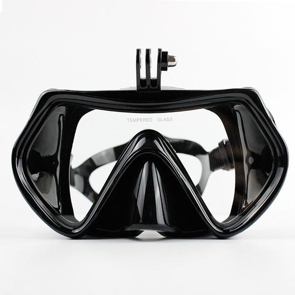 Gopro Tempered Diving Glas Schnorcheln Tauchen Maske Erwachsene Silikon Schwimmen Tauchen Gläser Tauchen Masken Für Go Pro Kamera