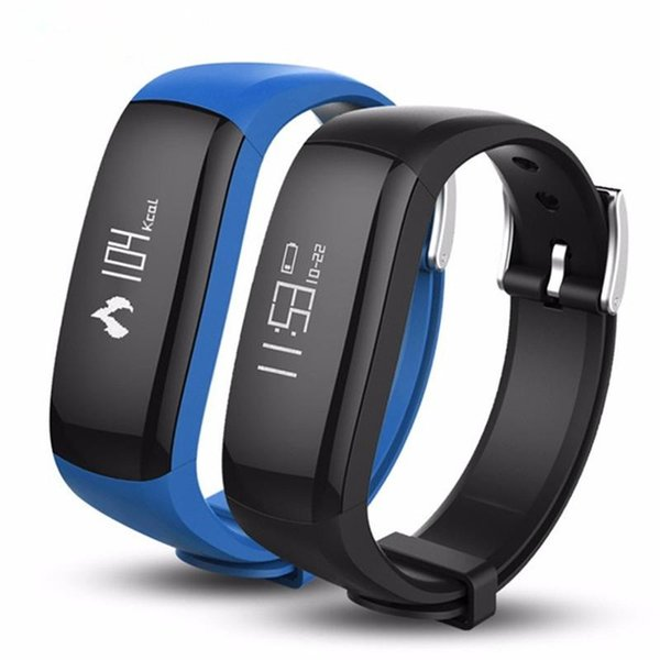 P6 Smart Wristbands Vibrating Alarm Clock Bracelet Calorie Counting Wristband Bluetooth Fitness Tracker for Android IOS