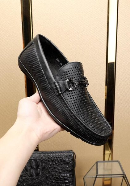 Drop Shipping New Men's Dress shoes,Breathable casual shoes,Men Flats Shoes Brand Designer Flats Shoes Sneakers Slip-on shoes
