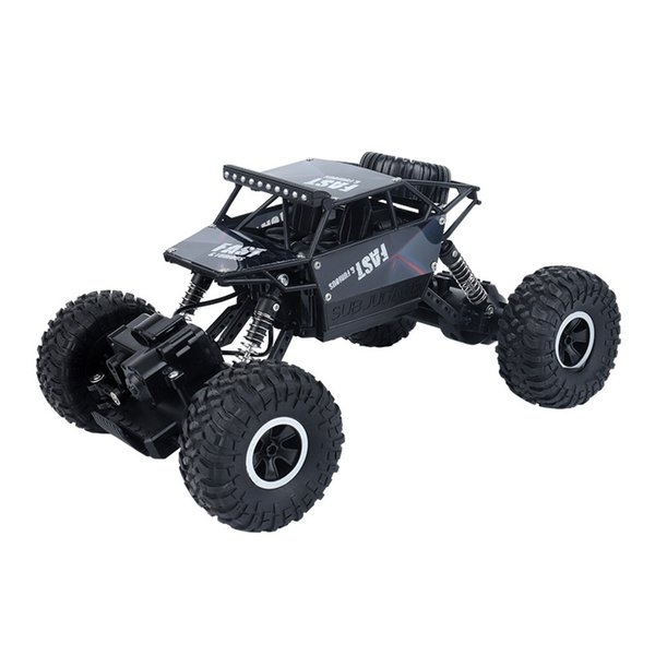 Remote control off-road climbing car children's electric toy charging high-speed four-wheel-drive big foot alloy competition model stunt car