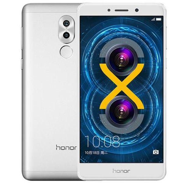 Original Huawei Honor 6X Play 4G FDD LTE Mobile Phone Kirin 655 Octa Core 3G RAM 32G ROM 5.5inch 2.5D Glass 12.0MP Fingerprint ID Cell Phone